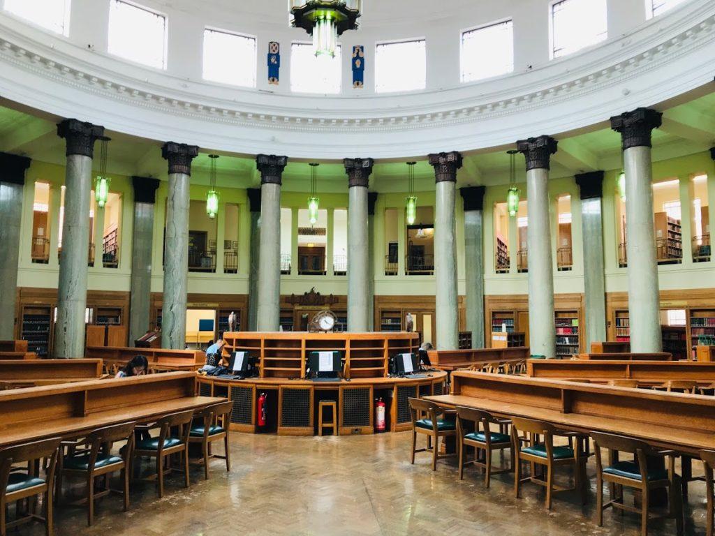 英國里茲大學總圖書館