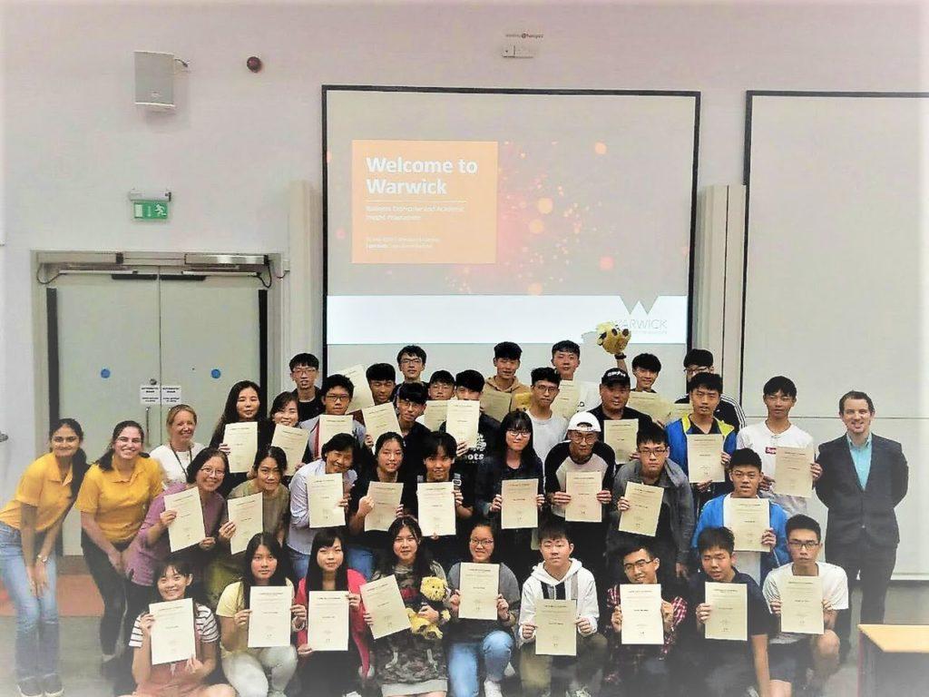 IBEDNA協會安排高中生赴英國參訪知名大學豐富學習體驗