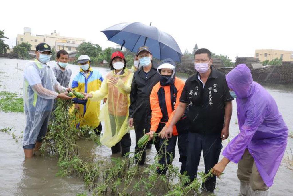 雲林農損為全國災損第一 縣府建請農委會公告雲林縣為「全品項現金救助地區」