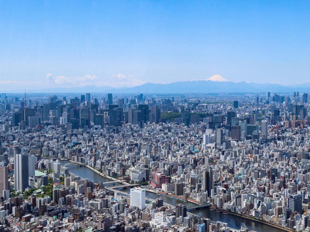 遠處的富士山清晰可見,陪新人浪漫入鏡。(圖片來源:Ⓒ東武鐵道株式会社)