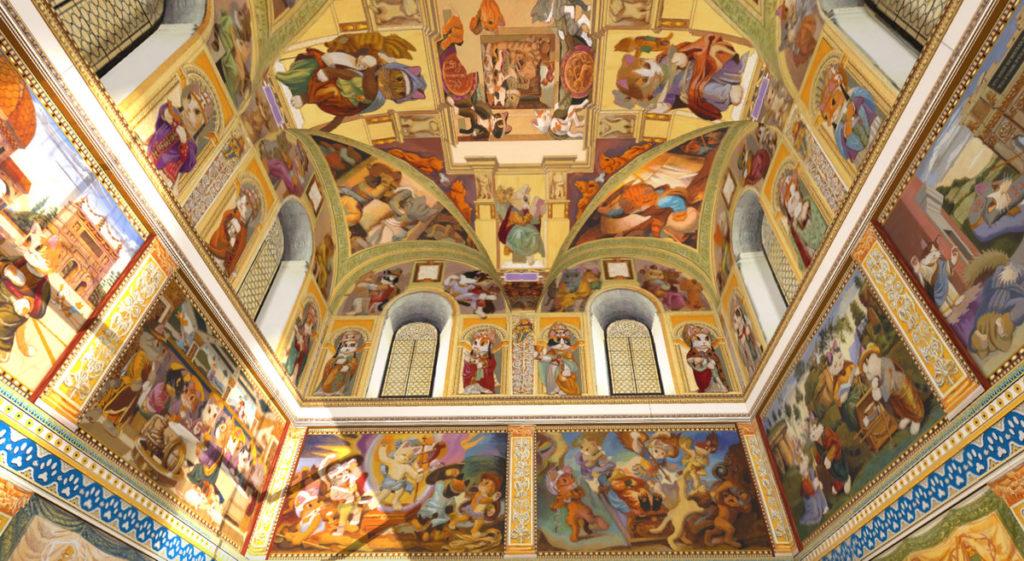 「貓斯汀大教堂」首次展出 124 幅完整畫作,完美重現教堂磅礴壁畫!