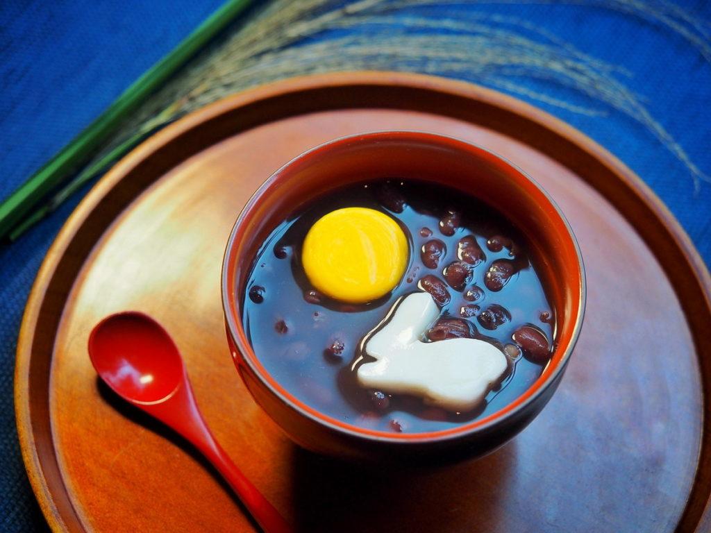 【虹夕諾雅 谷關 HOSHINOYA Guguan】幻月紅豆湯 ‧ Moon Festival special dessert