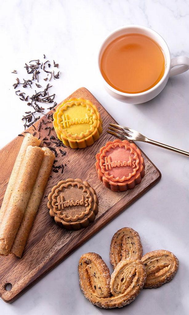 Harrods融合經典英式紅茶,推出多款精緻茶點,給您不凡的中秋饗宴(圖片由新光三越Harrods提供)