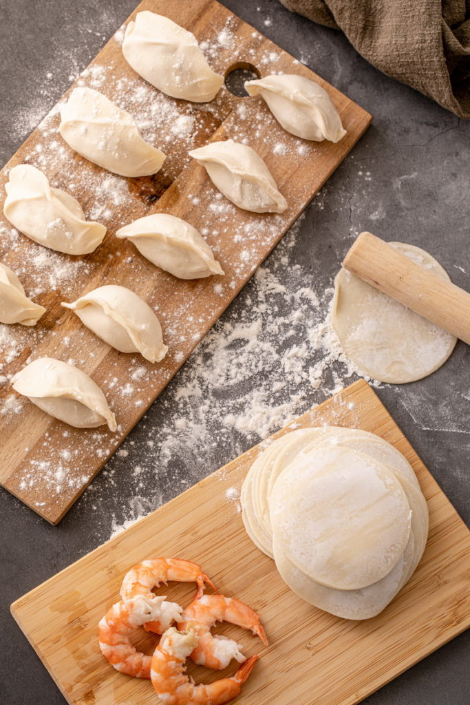 歷經將近一年半籌備,李饗煮易重量鉅獻推出「蝦味鮮蝦餃」挑戰市場最「蝦」水餃!