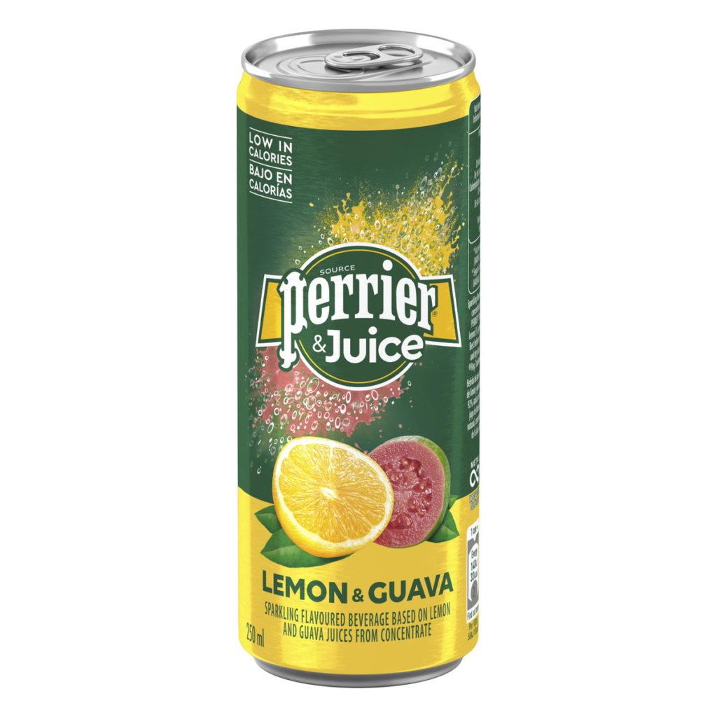 Perrier & Juice法國沛綠雅檸檬芭樂氣泡綜合果汁,9月17日全台好市多、好市多線上購物獨家上市