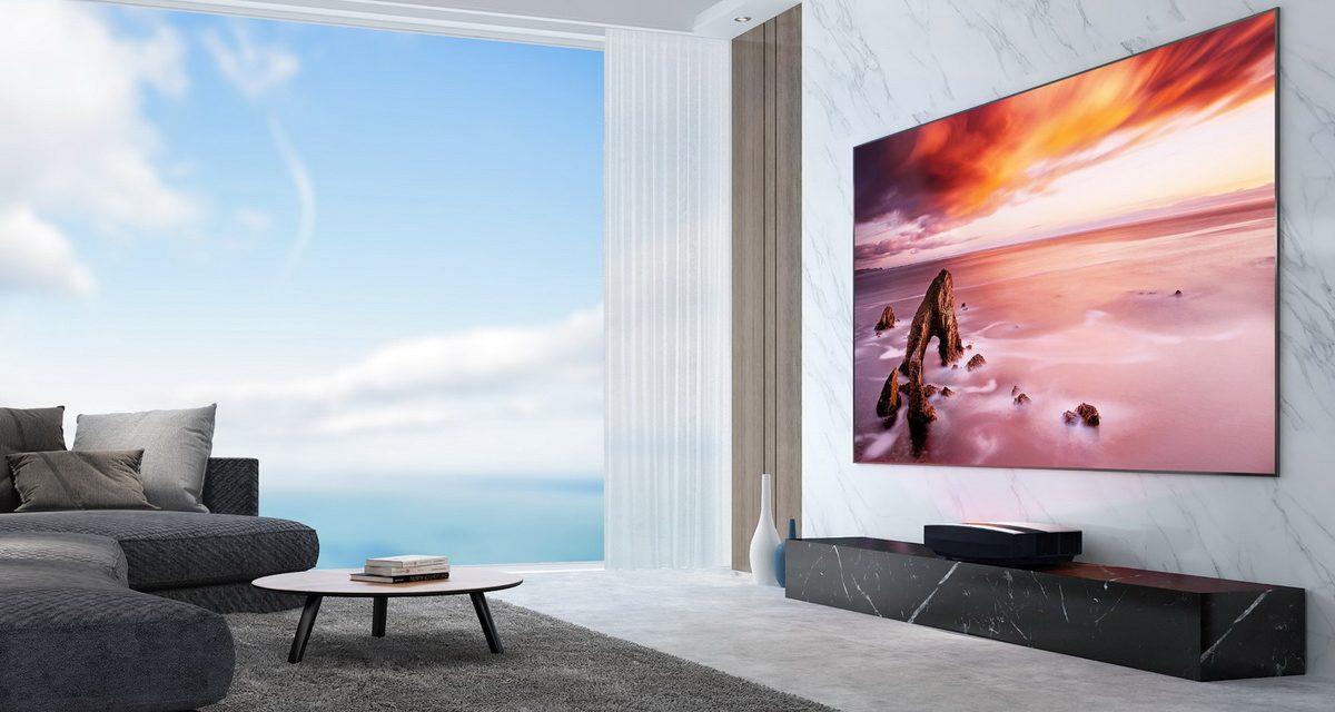 XGIMI AURA全新推出Android TV 4K超短焦雷射智慧電視  全球首發台灣第一站上市!