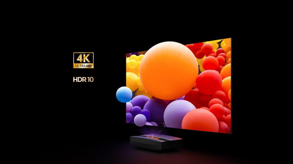 色彩飽和不傷眼,4K超高畫質完美呈現真實影像