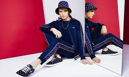 FILA經典印花系列 紅藍白三原色掀復古風格新時尚