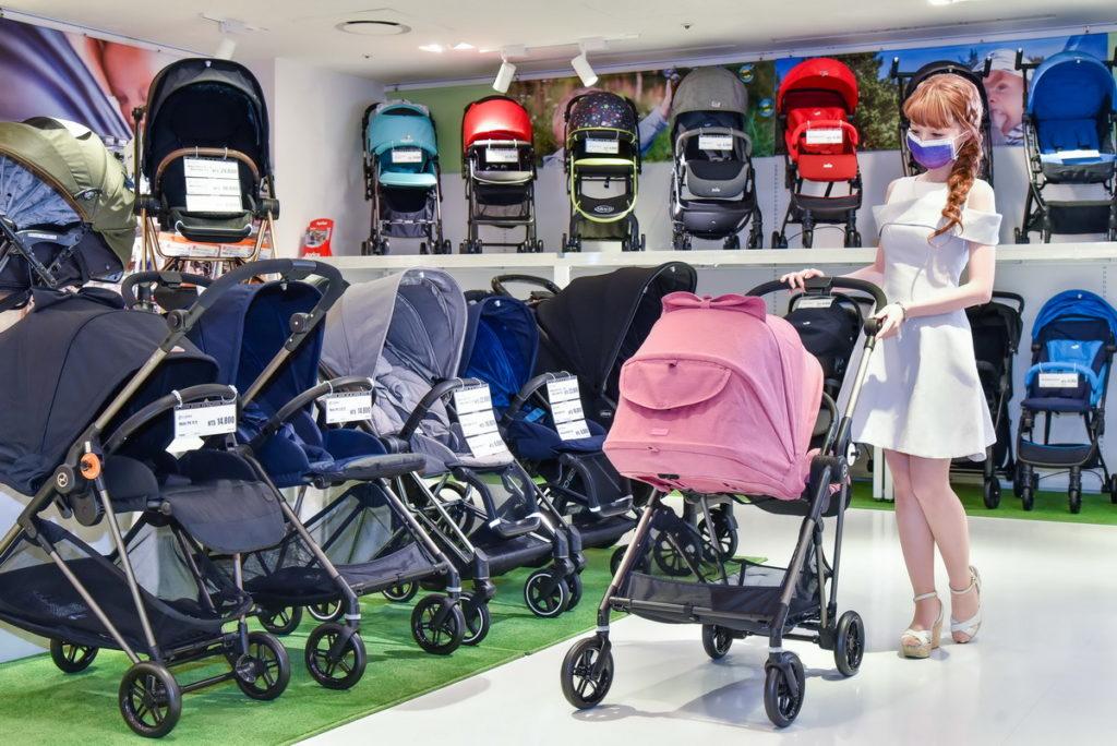 阿卡將本舖「一站式」購物體驗成為育兒的購物首選(台灣阿卡將本舖提供)相關商品及促銷均為採訪當時之內容