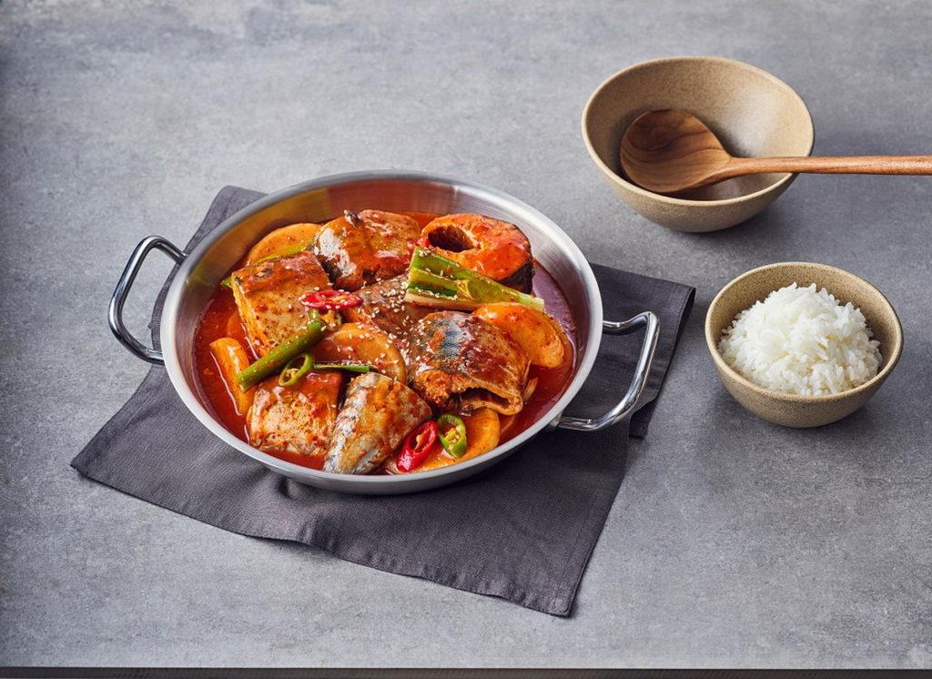 鯖魚韓式料理