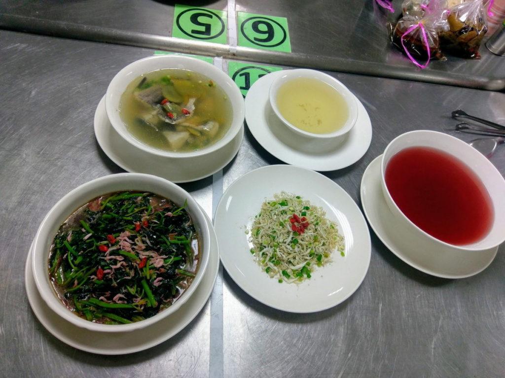 嘉義市居家托育服務中心月子餐訓練課程學員成品