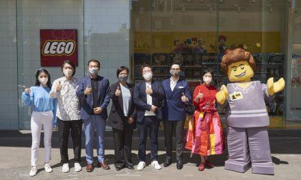 樂高授權專賣店正式進駐新竹市!運用10萬顆粒積木打造馬賽克牆 完美呈現新竹「風城」特色