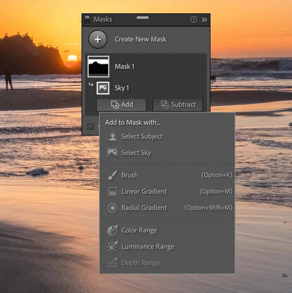從任一遮色片中增添或去除任何多餘遮色片功能。