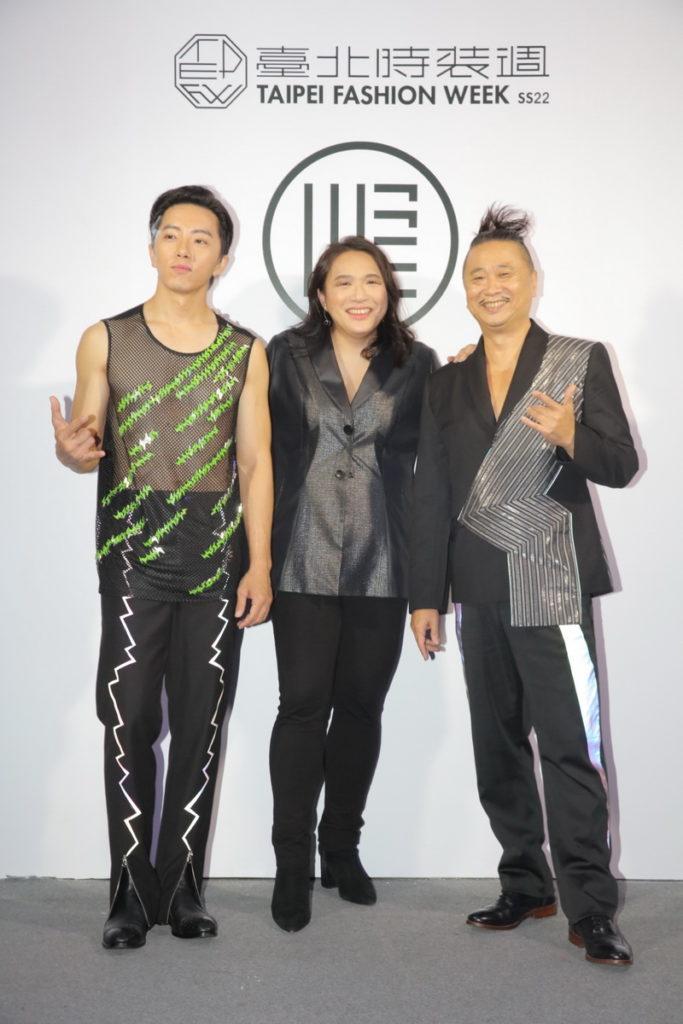 (由左至右)活動嘉賓藝人坤達、設計師汪俐伶以及藝人邰智源