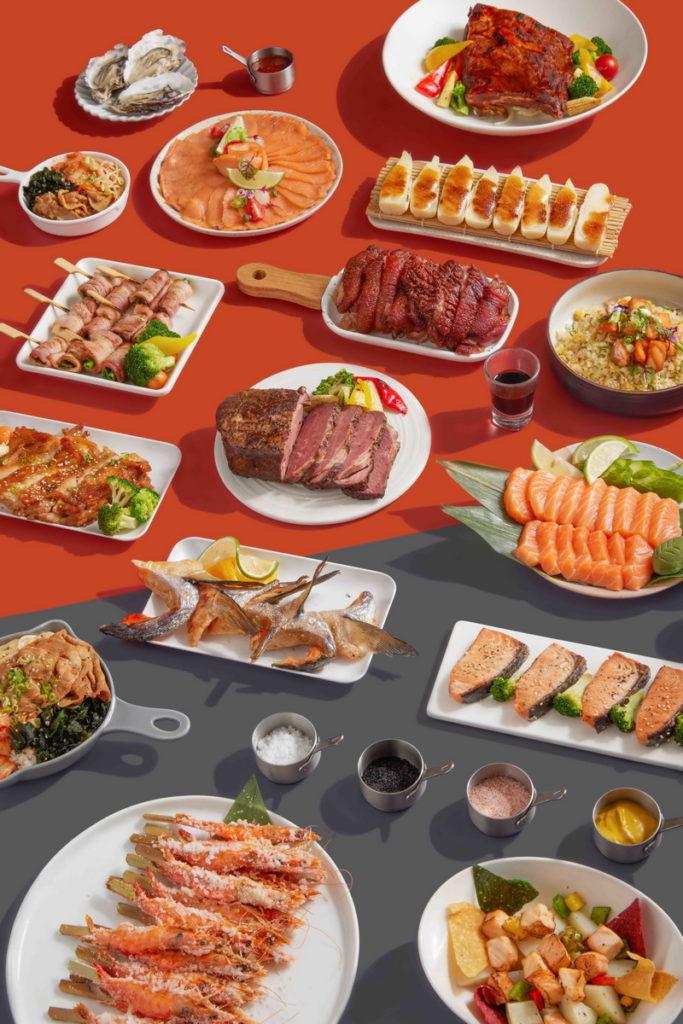 台北國泰萬怡酒店 MJ Kitchen 即日起首波主打雙主題菜色 鮭魚宴x燒烤季 雙人以上用餐75折