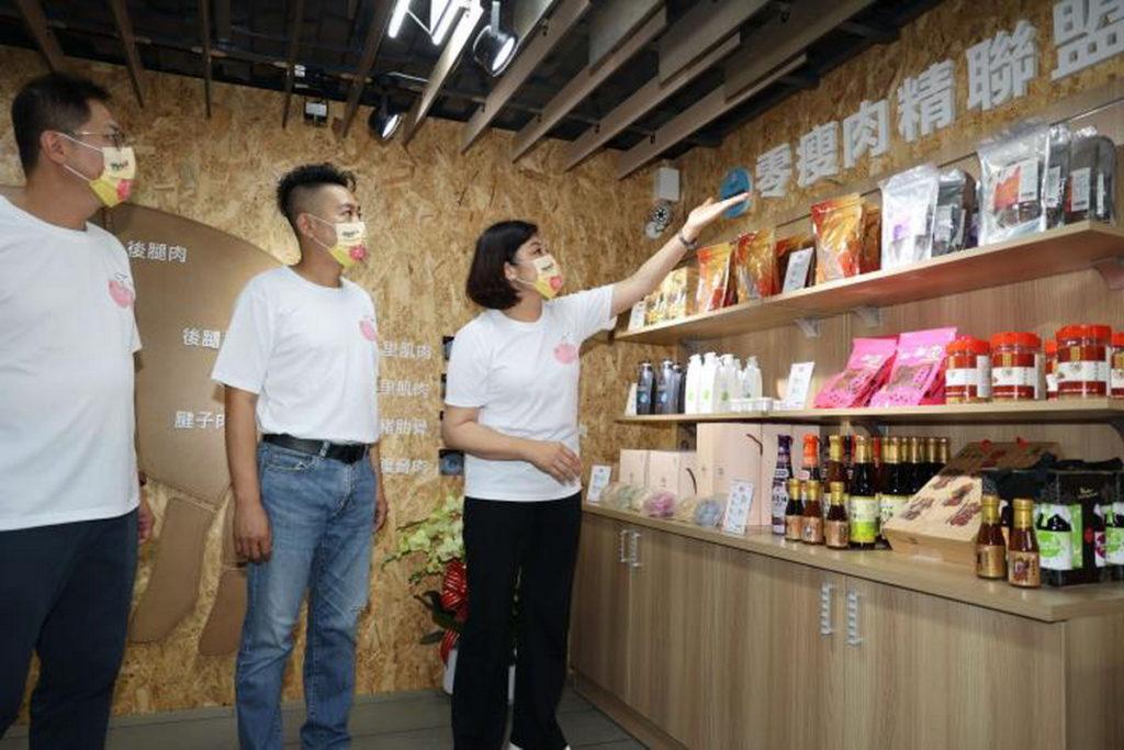 豬市吉饗-雲饗豬展售教育館 一樓展售區