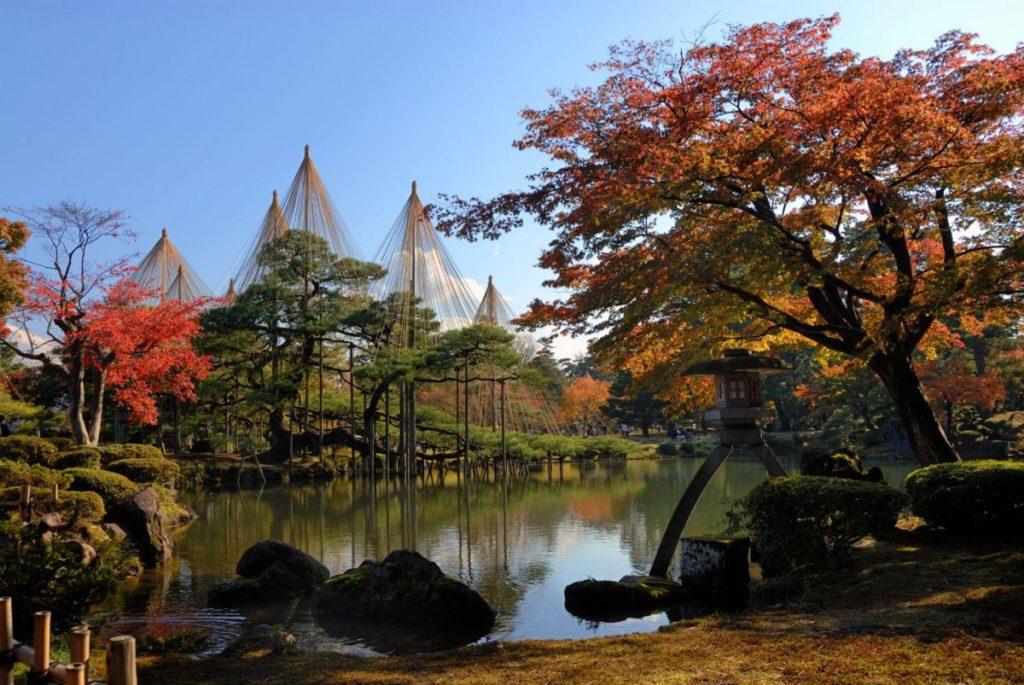 兼六園是日本最美麗的傳統庭園之一